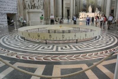 De slinger van Foucault in het Panthéon