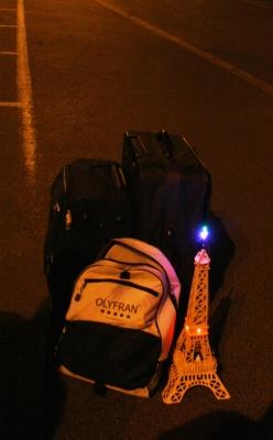 Eiffeltoren geeft nog licht