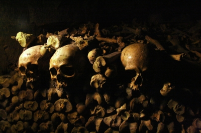 Lugubere catacombes