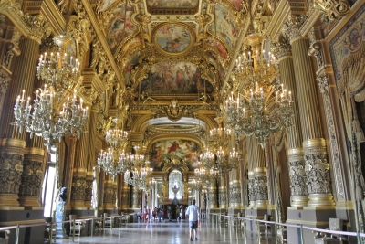 Opéra Garnier is mooi