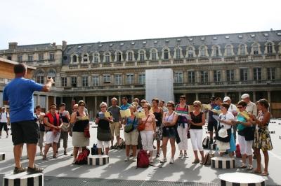 Zingen op Palais-Royal
