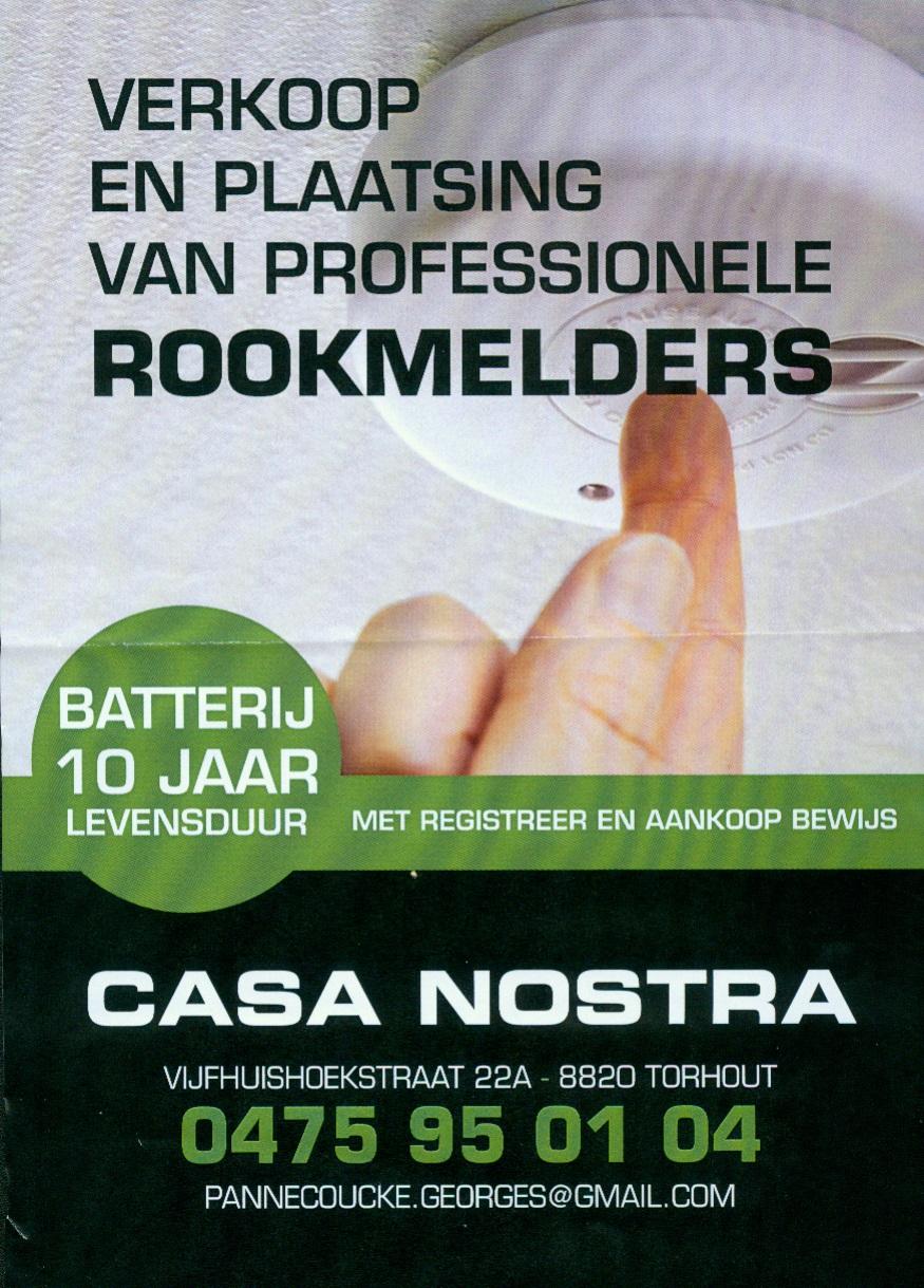 Rookmelders Pannecoucke